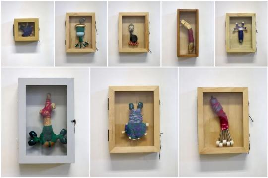 Klein - Serie I - meerdere vitrinekastjes